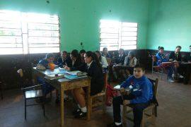 Jovenes de la comunidad Tajy Loma